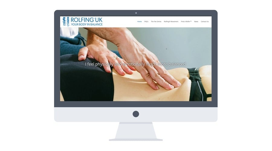 Rolfing UK® Launches its New Website